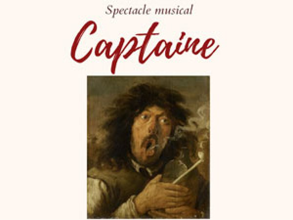 SPECTACLE MUSICAL CAPTAINE