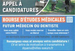 APPEL A CANDIDATURES BOURSE D'ÉTUDES MÉDICALES