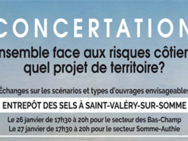 CONCERTATION FACE AUX RISQUES COTIERS