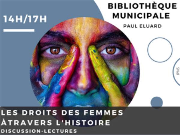 LES DROITS DES FEMMES : DISCUSSION-LECTURES LE 6 MARS