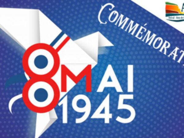 COMMÉMORATION DE LA VICTOIRE DU 8 MAI 1945