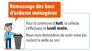 CHANGEMENT DANS LA COLLECTE DES ORDURES MÉNAGÈRE À AULT