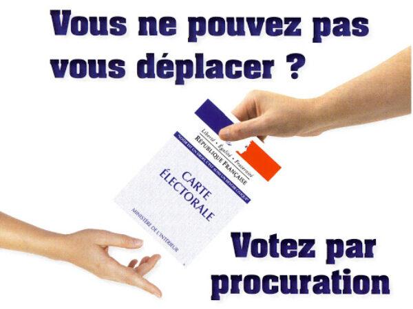 ÉLECTIONS RÉGIONALES ET DÉPARTEMENTALES – COMMENT VOTER PAR PROCURATION ?