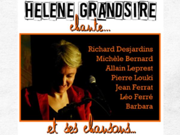 HÉLÈNE GRANDSIRE CHANTE – CONCERT VOCAL/PIANO – BOIS DE CISE