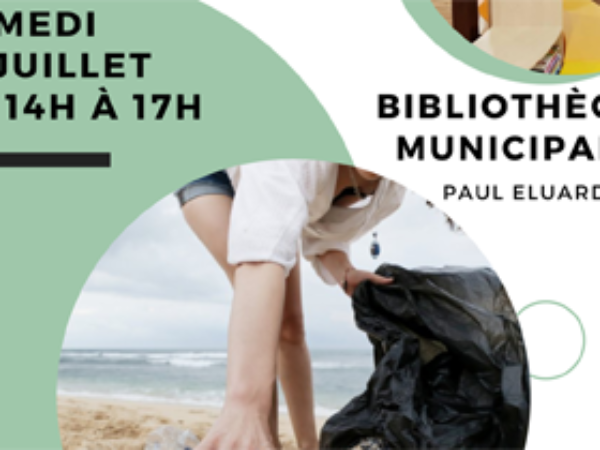 BIBLIOTHEQUE : LE SAMEDI 17 JUILLET DE 14H A 17H