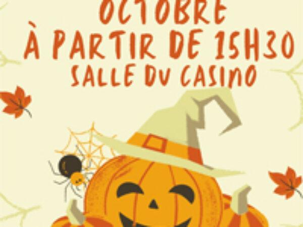HALLOWEEN – LE 23 OCTOBRE A PARTIR DE 15h30 SALLE DU CASINO